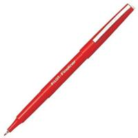 PILOT FINELINER PEN 0.4MM RED