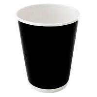 CAPRI DOUBLE WALL COFFEE CUP 237ML 8OZ BOX 500