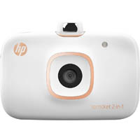HP SPROCKET 2 IN 1 DIGITAL CAMERA AND PHOTO PRINTER WHITE