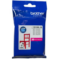 BROTHER LC3319XLM INK CARTRIDGE HIGH YIELD 1500 PAGES MAGENTA