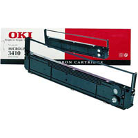 OKI ML3410 PRINTER RIBBON BLACK