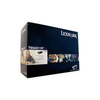 LEXMARK T654X11P TONER CARTRIDGE BLACK