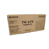 KYOCERA TK679 TONER CARTRIDGE BLACK
