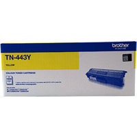 BROTHER TN-443 LASER TONER CARTRIDGE HIGH YIELD YELLOW