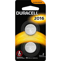 DURACELL 2016 LITHIUM 3V BATTERY PACK 2
