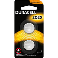 DURACELL 2025 LITHIUM 3V BATTERY PACK 2