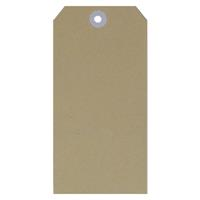 ESSELTE SHIPPING TAGS SIZE 1 35 X 70MM BUFF BOX 1000