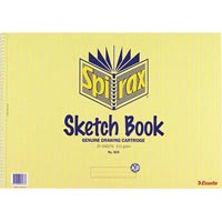 SPIRAX 533 SKETCH BOOK SPIRAL BOUND 40 PAGE A3