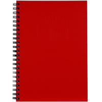 SPIRAX 512 NOTEBOOK 7MM RULED HARD COVER SPIRAL BOUND A4 200 PAGE RED