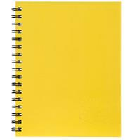 SPIRAX 512 NOTEBOOK 7MM RULED HARD COVER SPIRAL BOUND A4 200 PAGE YELLOW