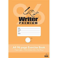 WRITER PREMIUM EXERCISE BOOK DOTTED THIRDS 18MM 70GSM 96 PAGE A4