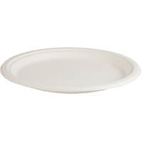 ENVIROCHOICE PLATE ROUND NATURAL FIBRE 225MM PACK 25