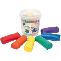 EDUCATIONAL COLOURS FUN DOUGH 900G ASSORTED COLOUR