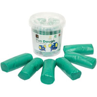 EDUCATIONAL COLOURS FUN DOUGH 900G GREEN