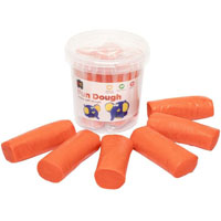 EDUCATIONAL COLOURS FUN DOUGH 900G ORANGE