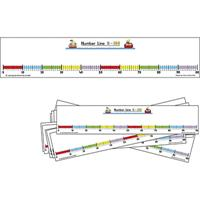 LEARNING CAN BE FUN STUDENT NUMBER LINE 0-100 PACK 10