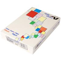 FLYING COLOURS COLOURED A4 COPY PAPER 80GSM IVORY PACK 500 SHEETS