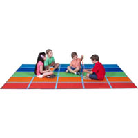 ELIZABETH RICHARDS FUN COLOUR BLOCKS RUG 3000 X 2000MM