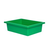 ELIZABETH RICHARDS PLASTIC TOTE TRAY GREEN