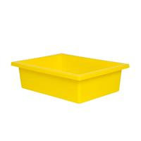 ELIZABETH RICHARDS PLASTIC TOTE TRAY YELLOW