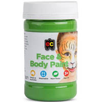EDUCATIONAL COLOURS FACE PAINT 175ML GREEN