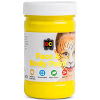EDUCATIONAL COLOURS FACE PAINT 175ML YELLOW