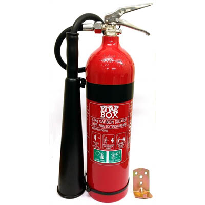 Fire Extinguishers and Blanket