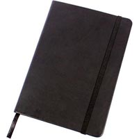 MODENA PU JOURNAL A5 192 PAGE BLACK