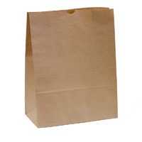 CAPRI PAPER BAG SELF-OPENING SIZE 20 BROWN PACK 250