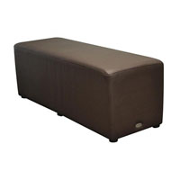 DURASEAT OTTOMAN RECTANGLE CHOCOLATE