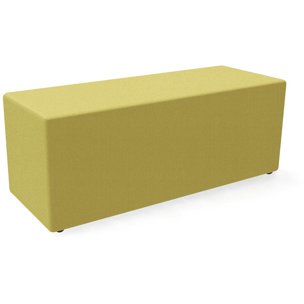Brilliant Fineseat Eq Rectangular Ottoman Large Yellow Office National Squirreltailoven Fun Painted Chair Ideas Images Squirreltailovenorg