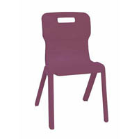 SYLEX TITAN CHAIR 350MM RED