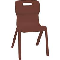 SYLEX TITAN CHAIR 430MM BURGUNDY