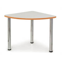QUORUM GEOMETRY MEETING TABLE QUARTER ROUND 750MM