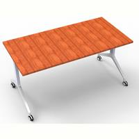 RAPIDLINE FLIP TOP TABLE 1500 X 750MM CHERRY