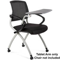 RAPIDLINE TABLET ARM TO SUIT ZOOM CHAIR GREY