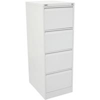 GO STEEL FILING CABINET 4 DRAWERS 460 X 620 X 1321MM WHITE CHINA
