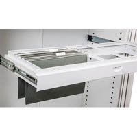 GO ROLL OUT SUSPENSION FILE FRAME FOR 1200MM TAMBOUR CUPBOARD WHITE CHINA