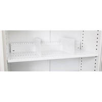 GO SLOTTED SHELF FOR 1200MM TAMBOUR DOOR CUPBOARD WHITE CHINA