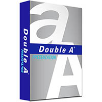DOUBLE A A3 PRESENTATION COPY PAPER 100GSM WHITE PACK 500 SHEETS