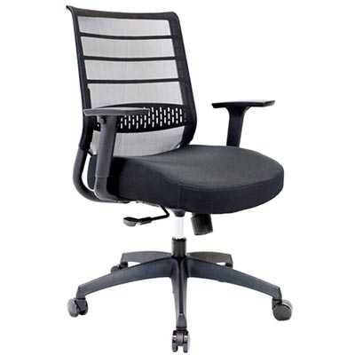 Image for ONYX TASK CHAIR MESH BACK BLACK from Dynamic Office National