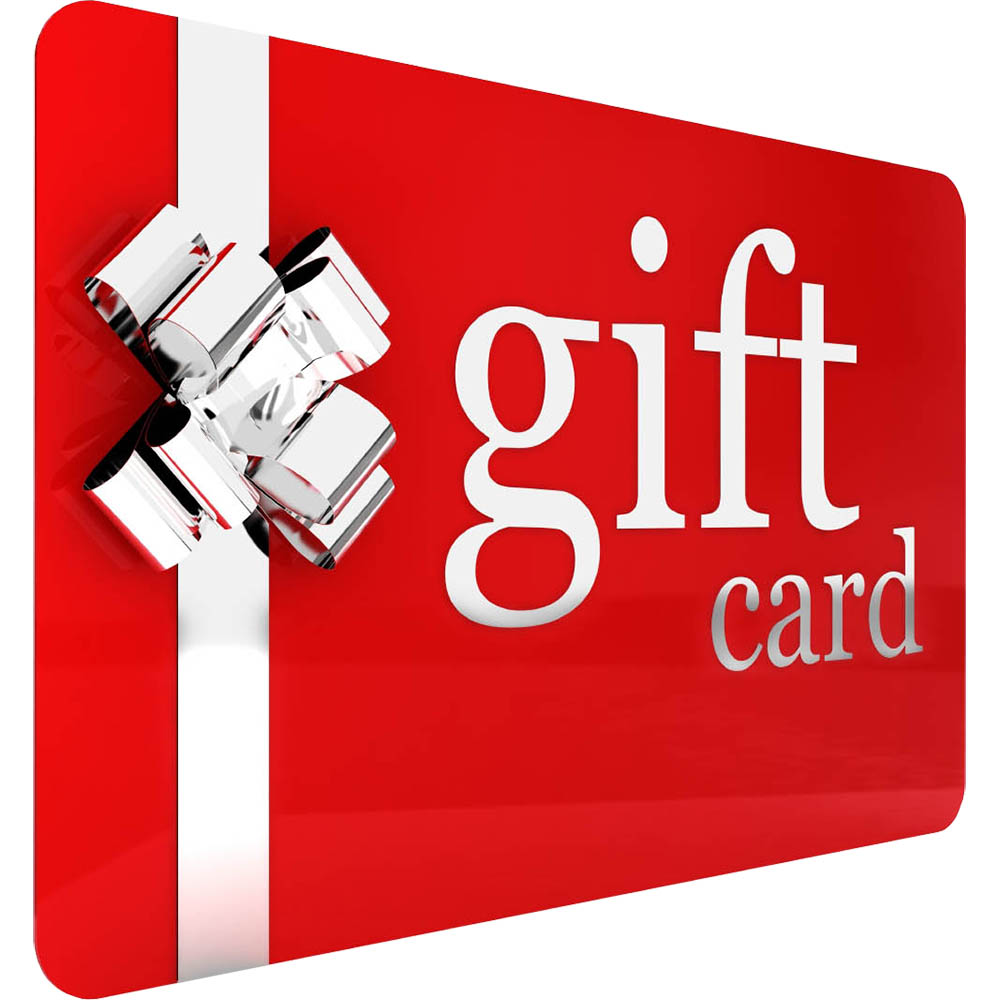 Gift Cards, Vouchers and Donations