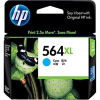 HP CB323WA NO 564XL INK CARTRIDGE CYAN