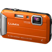 PANASONIC DMC-FT30 LUMIX DIGITAL TOUGH CAMERA ORANGE