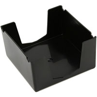 ITALPLAST MEMO CUBE HOLDER (CUBE ONLY) BLACK