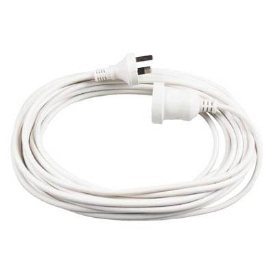 ITALPLAST EXTENSION LEAD 240V 10A 10M WHITE