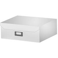 ITALPLAST EAZIFOLD DOCUMENT BOX A4 WHITE