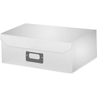 ITALPLAST EAZIFOLD DOCUMENT BOX A5 WHITE