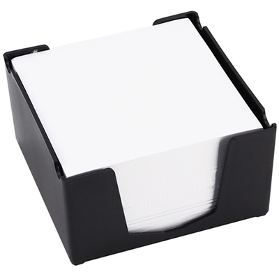 Image for ITALPLAST MEMO CUBE WITH PAPER BLACK from Office National Perth CBD