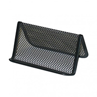 ITALPLAST WIRE MESH BUSINESS CARD HOLDER BLACK